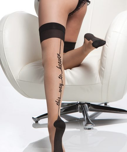 'This Way To Heaven' Stockings