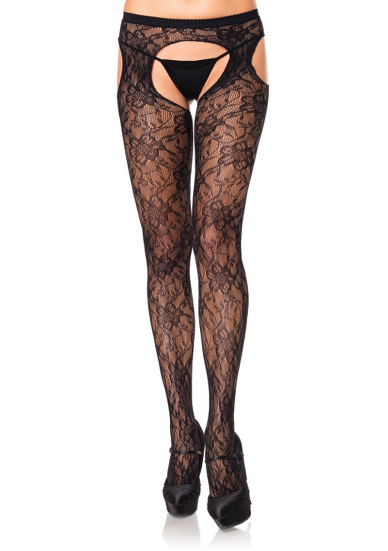 Lace Suspender Tights