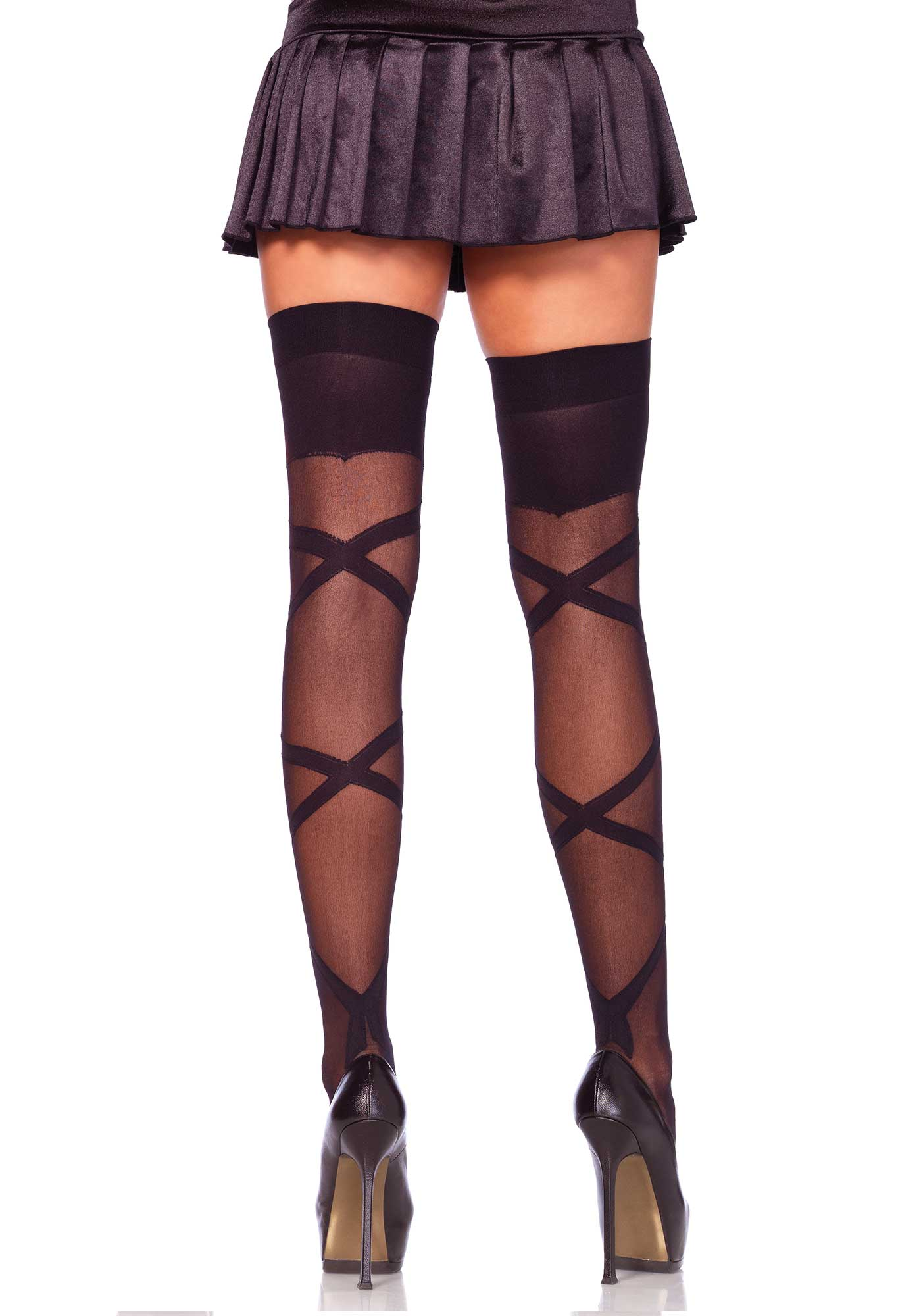 Criss Cross Stockings