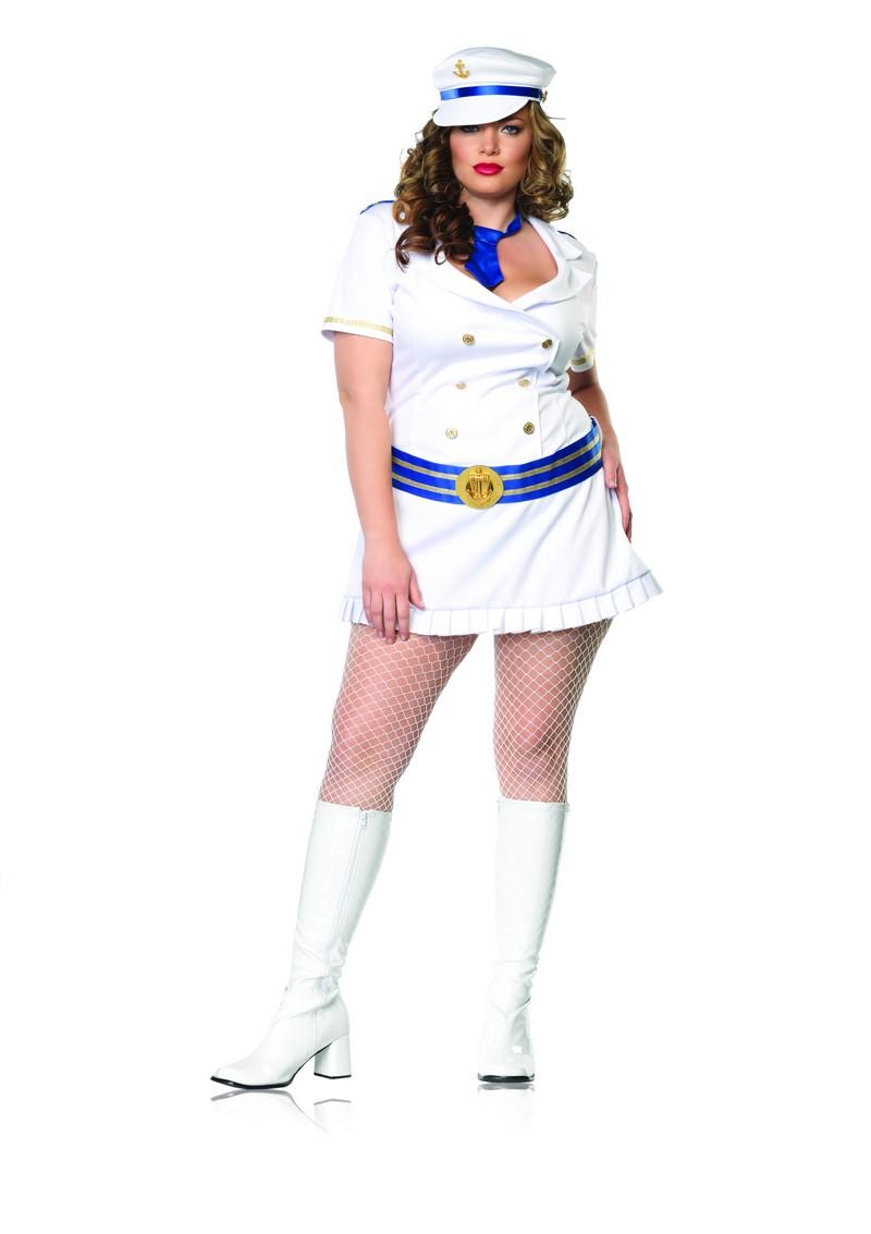 Captivating Captain Costume Plus Size