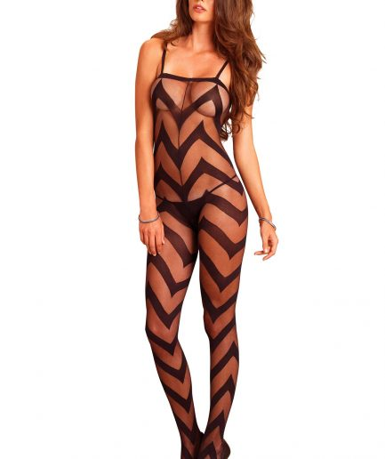 Chevron Bodystocking